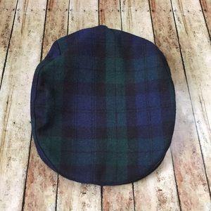 Accessories - Vintage plaid newsboy hat